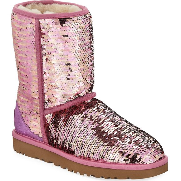 UGG Shoes   Classic Short Sequin Boots